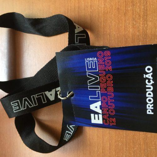 Passe EA LIVE Lisboa2019