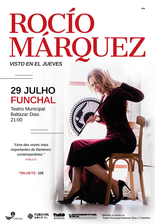 Rocío Marquez 29 Funchal