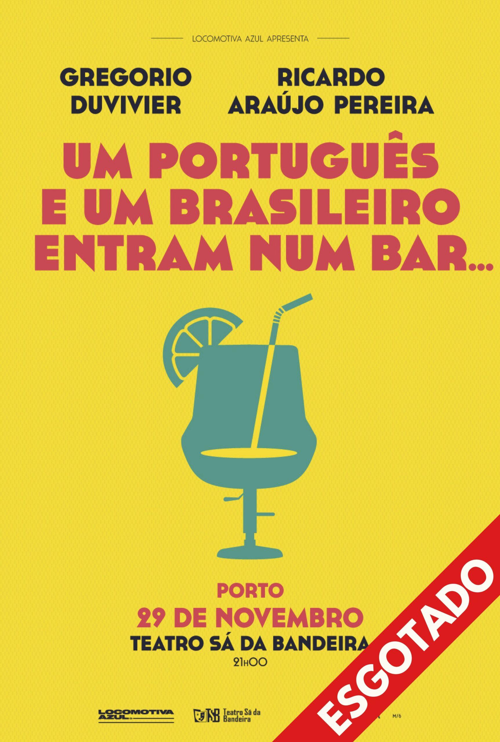 Um Português e um Brasileiro (Porto)