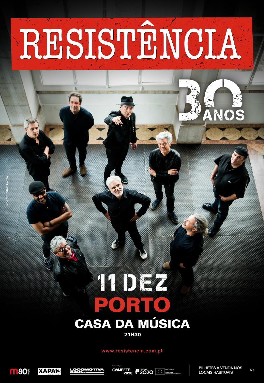 Resistência 30 anos – Porto