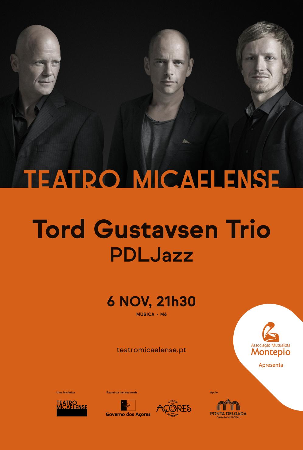 Tord Gustavsen Trio no PDL Jazz dia 6 de Novembro